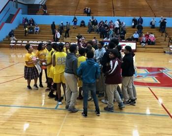 Varsity Girls Basketball Team Advances