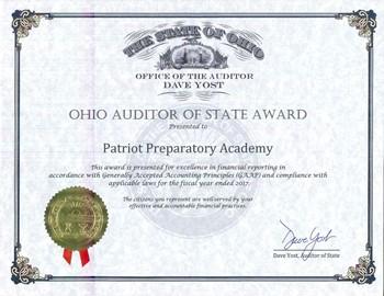 Ohio Auditor of the State Award