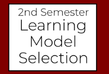 2nd Semester Learning Model Changes