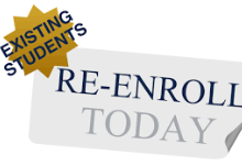 Current Families - Re-Enroll Today!